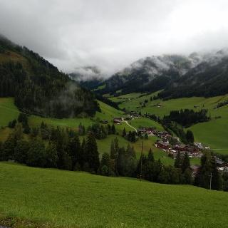 Aussicht vom Oberen Höhenweg