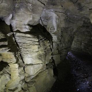Die Venushöhle von innen