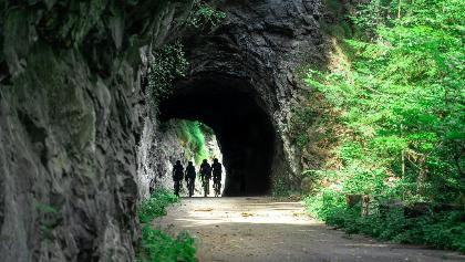 """alte Viamala-Strasse """"Verloren Loch"""""""