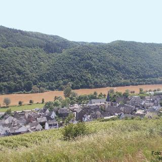 Blick auf Pommern (Mosel)