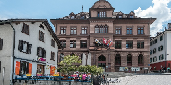 Ilanz, die erste Stadt am Rhein