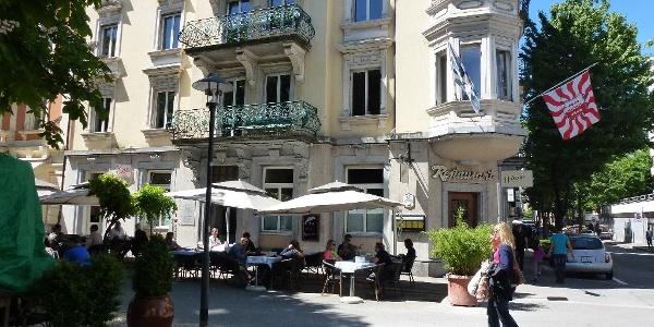 Restaurant Helvetia beim Helvetiagärtli im Quartier Hirschmatt-Neustadt
