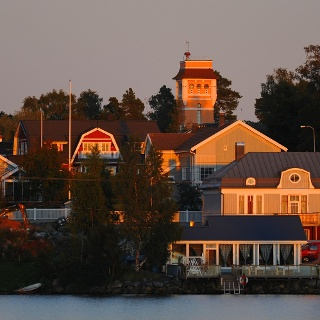 Kaskinen, island town by the sea