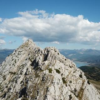 Der Westgrat des Pico Gilbo