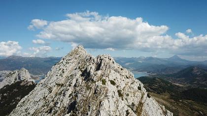 La arista occidental del Pico Gilbo