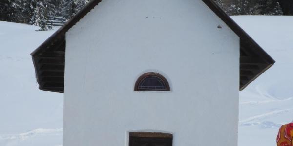 Die Kapelle neben dem Gasthaus Plätzwiese