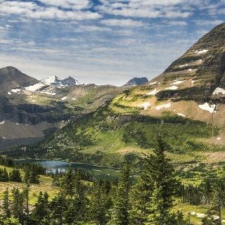 Bergwelt in Montana
