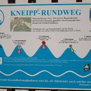 Übersicht Kneipp-Rundweg Bad Berka