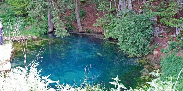 Der Blautopf von Essing