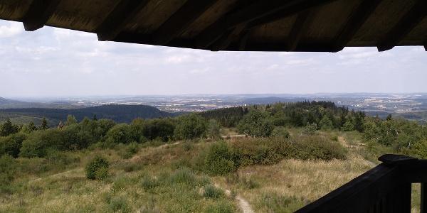 Blick vom Eggeturm auf Horn Bad Meinberg