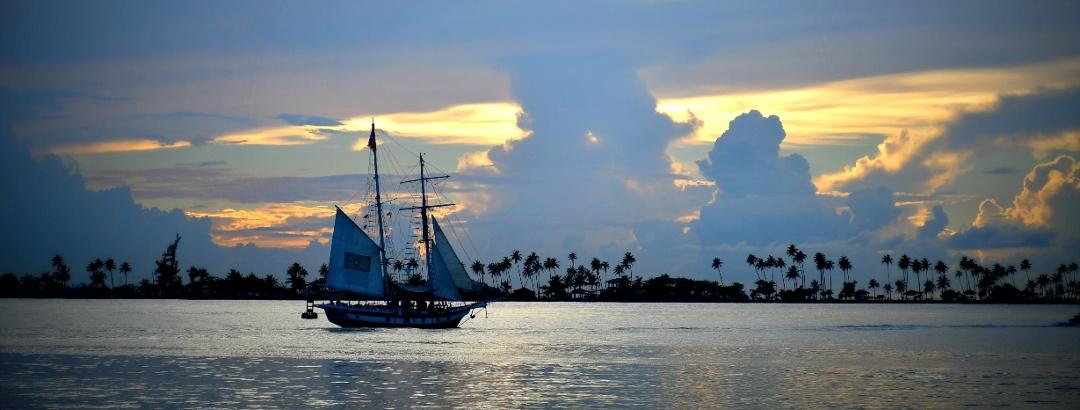 Boot auf Puerto Rico