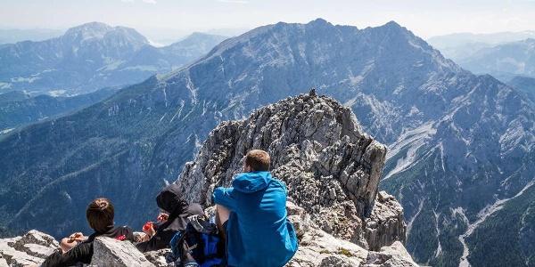 Gipfelrast am Hochkalter