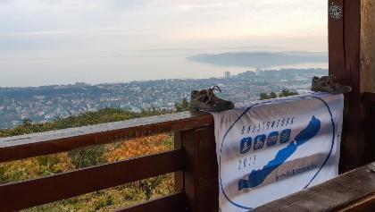 Kilátás a balatonfüredi Jókai-kilátóból