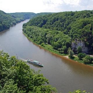 Über dem Donaudurchbruch