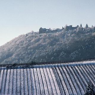 Madenburg im Schnee