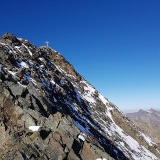 Der Gipfel ist nicht mehr weit