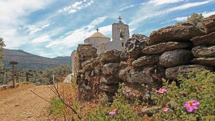 Naxos - Kapelle bei Chalki