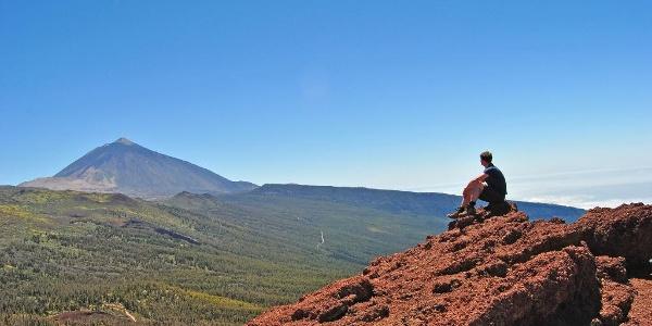 Teneriffa - Blick auf den Teide