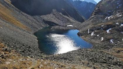 Der Moalandlsee auf 2530 m.
