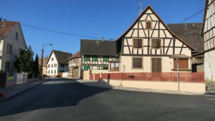 Geudertheim im Elsaß