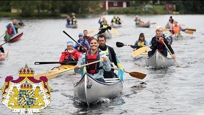 Kronprinsessan vandrar i Dalsland