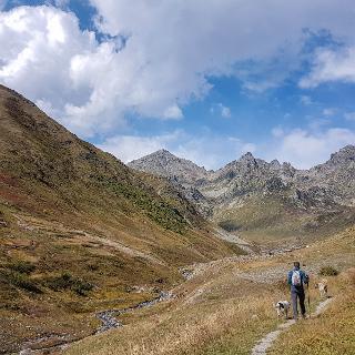 Im Zamevan Deresi kurz vor der Sommeralm Satelef (2300m)