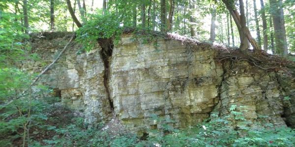 Kalksteinbruch