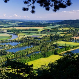 Blick auf die Godelheimer Seen