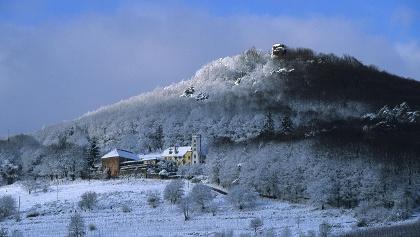 Slevogthof im Schnee