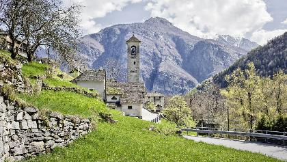 Church San Remigio, Linescio