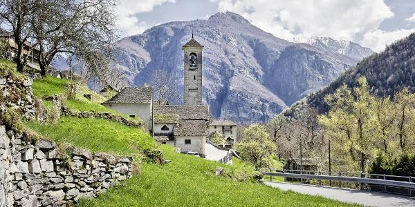 Kirche San Remigio, Linescio
