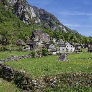 Sabbione, Valle Bavona