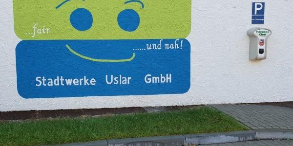Elektroauto-Ladestation Stadtwerke Uslar