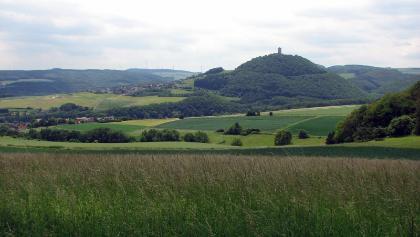 Blick zur Burg Olbrück