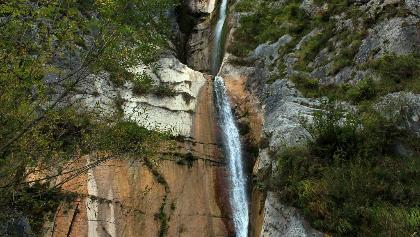 Wasserfälle Globoški potok