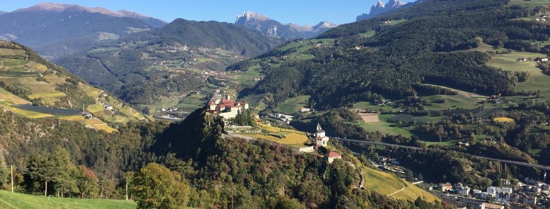 Kloster Säben, oberhalb Von Klausen