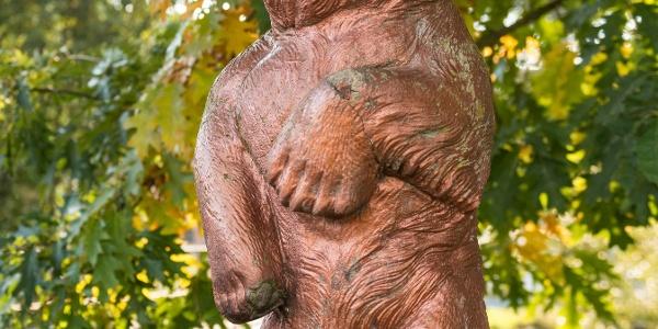 Bärenstatue Alfersteg