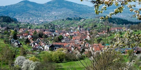Ortsansicht Loffenau