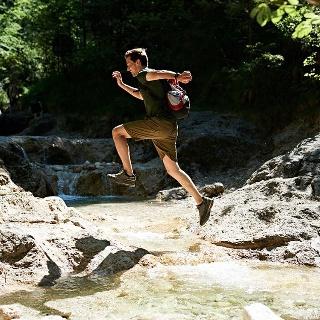 Erfrischende Wanderung am Wald-Idyll-Pfadin Bayerisch Gmain