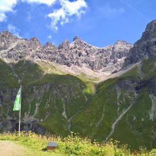 1.Tag - Blick von Kemptner Hütte