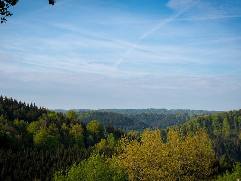 Blick ins Irsbachtal   - © Quelle: Agentur arcos