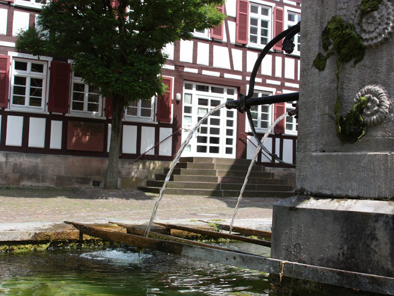 Brunnen am Rathaus   - © Quelle: Agentur arcos