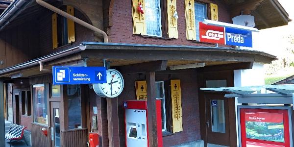 Bahnhof Preda.