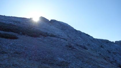 Sonnenaufgang am Kleinen Pyhrgas