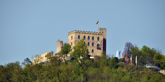 The Castle of Hambach • Castle » The most beautiful tours and ...