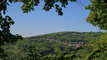 Krehberg (im Vordergrund Lindenfels-Seidenbuch)