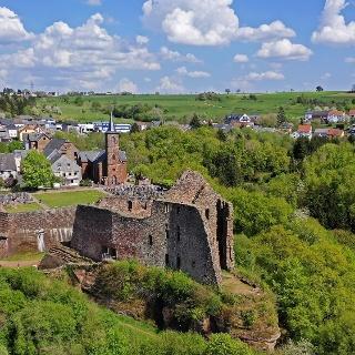 Burganlage Freudenburg (1)