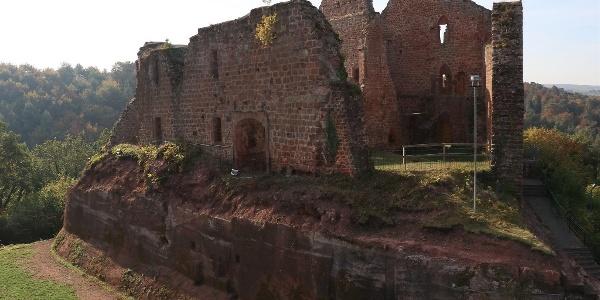 Burganlage Freudenburg (2)