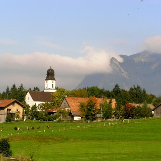 Ofterschwang in the Allgäu