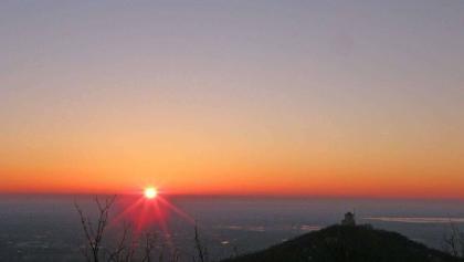 ..zalazak sunca na Vršačkim planinama...